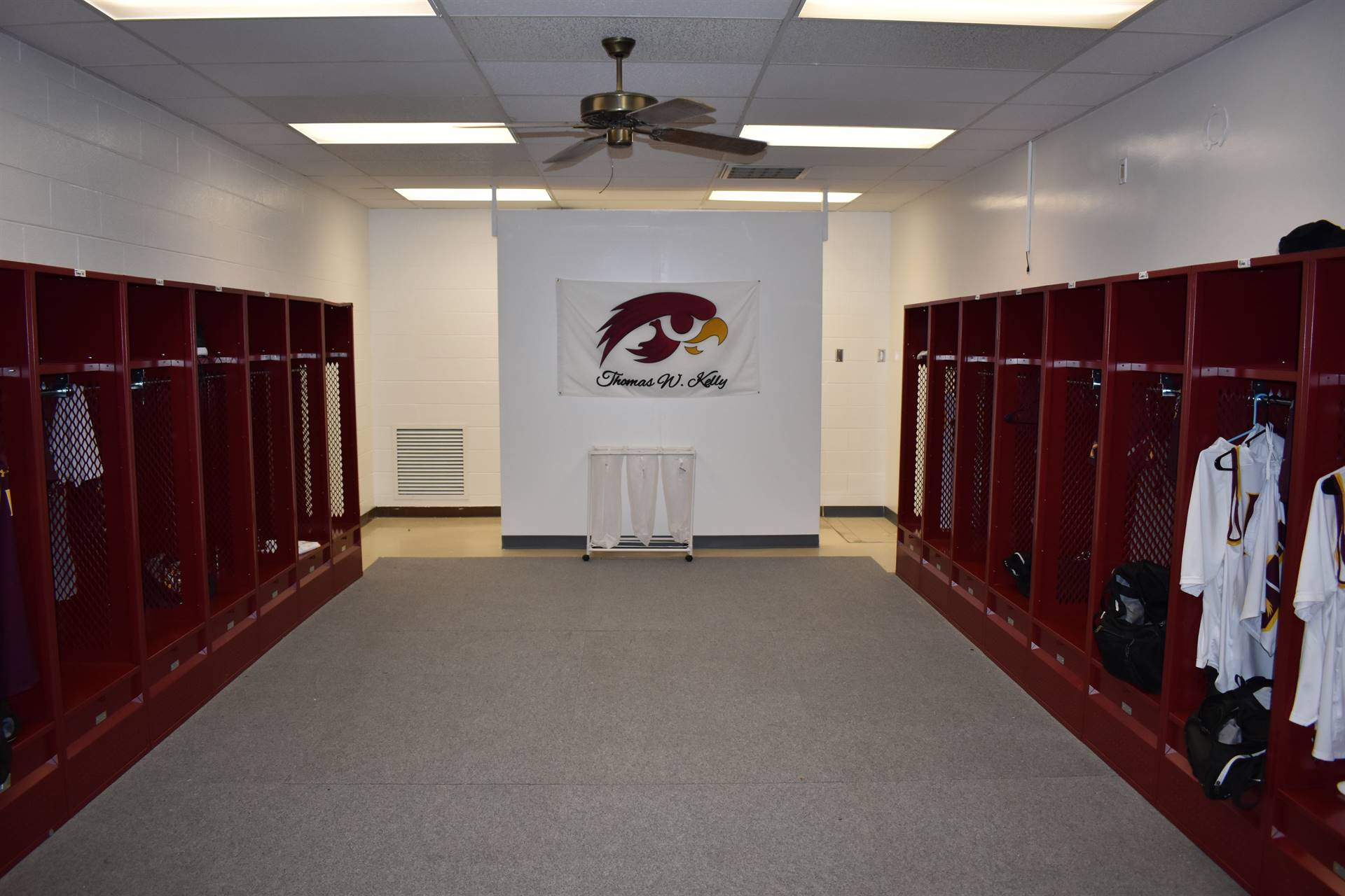 New Locker Room