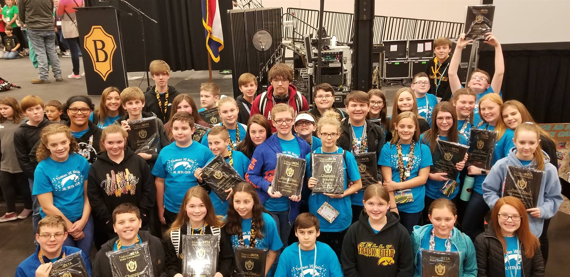 JR Beta Brings Home the Awards!