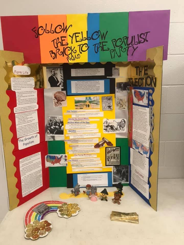 Shout out to Mrs. Herrion and her students for completing projects aligned with National History Day